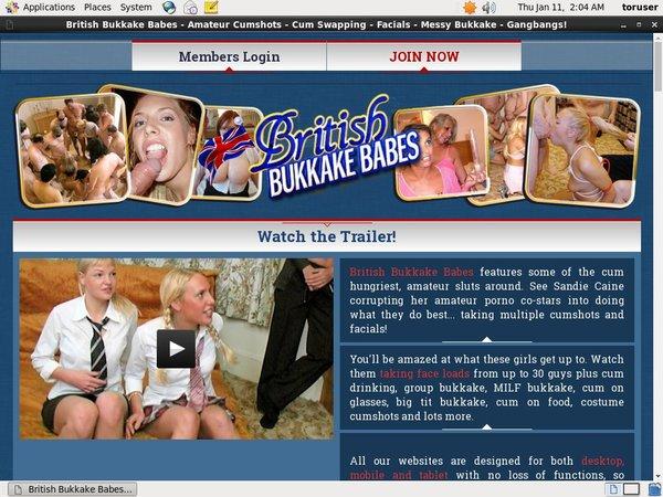 British Bukkake Babes Acc Free
