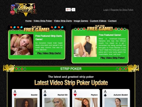 Free Accounts For V Strip Poker