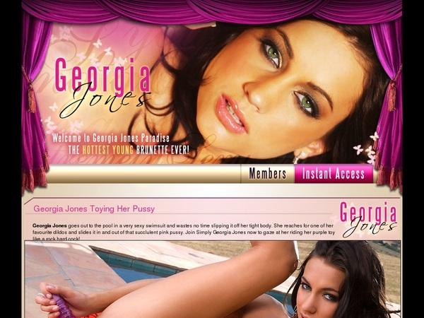 Georgia Jones Free Sign Up