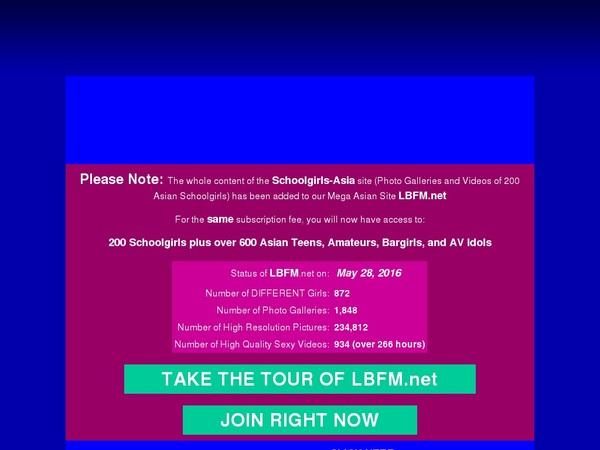 Get Free Schoolgirls Asia Account