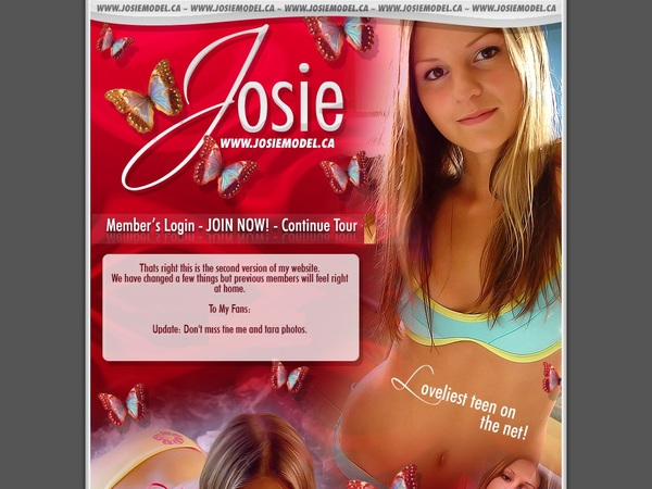 Get Josie Model For Free
