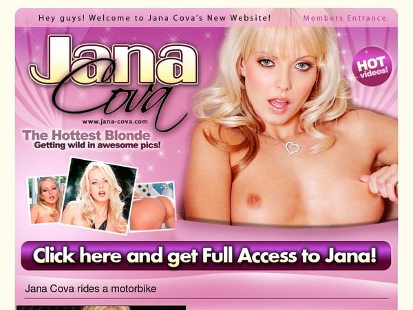 Jana Cova Free Acount