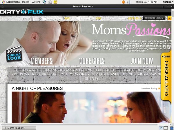 Moms Passions Get A Password