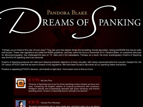 Porn Pass Dreams Of Spanking