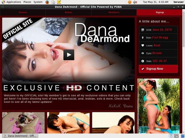Dana DeArmond Daily Passwords