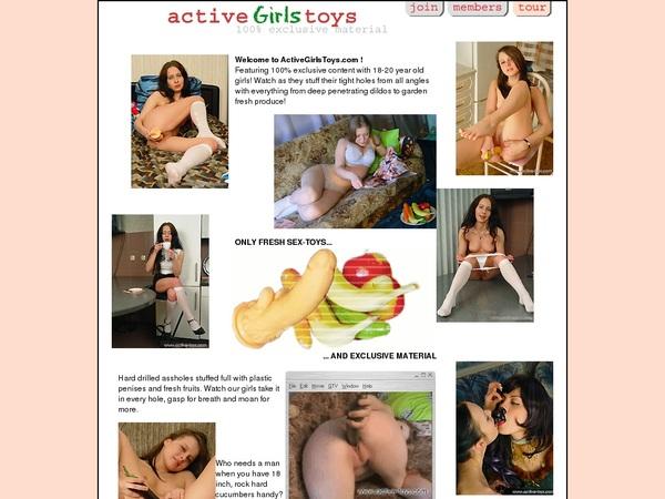 Activegirlstoys Register