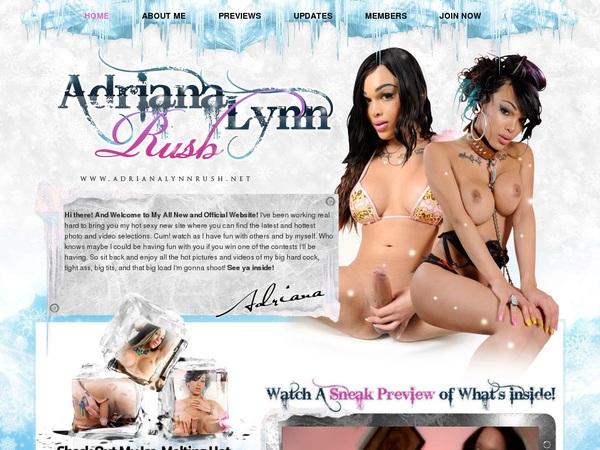 Logins For Adriana Lynn Rush