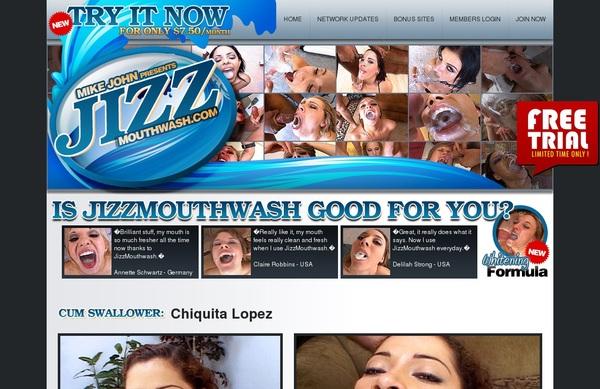Accounts Jizz Mouth Wash Free