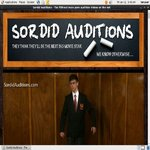 Free Sordid Auditions Subscription