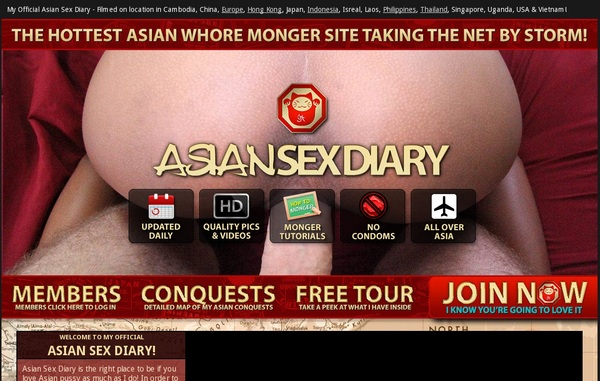 Asian Sex Diary Password And Account