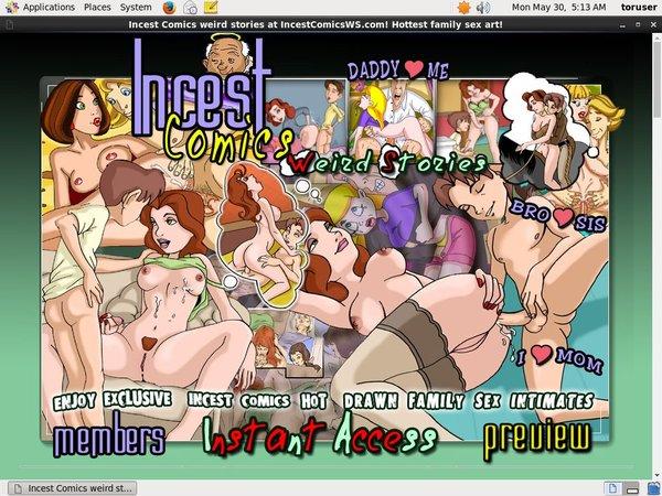 Free Incest Comics Ws Account