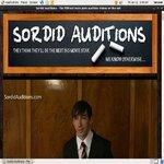 Sordid Auditions Tour 2 Membership Account