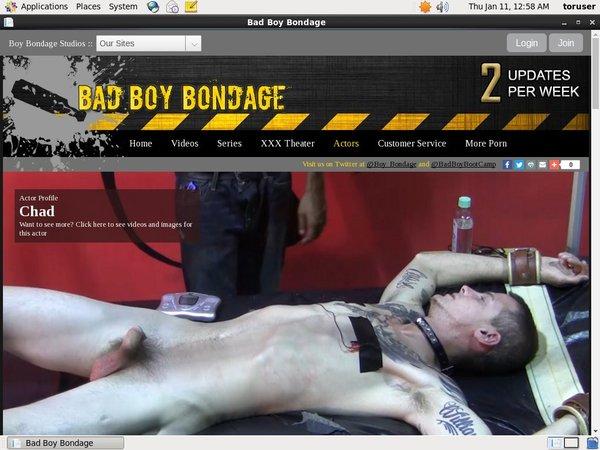 Bad Boy Bondage Fresh Passwords