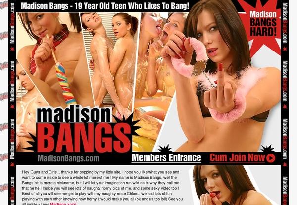 Discount Madison Bangs