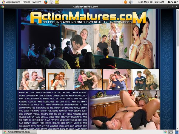 How To Get On Actionmatures For Free