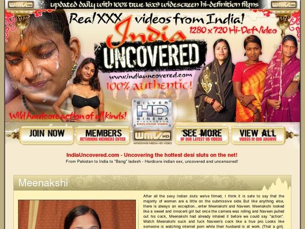 Accounts Free Indiauncovered.com
