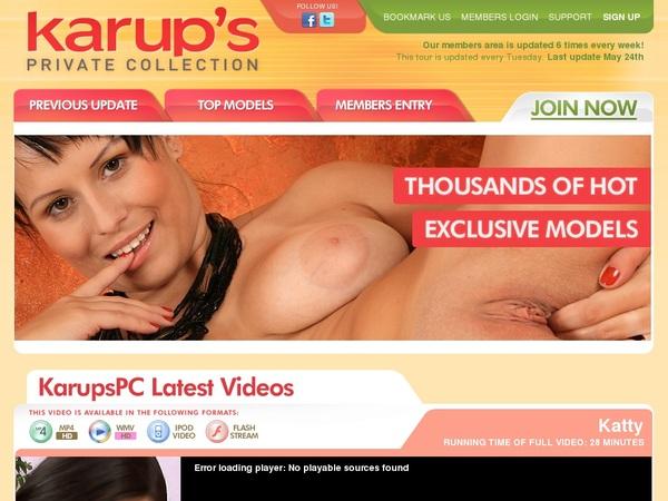 Buy Karups PC Account