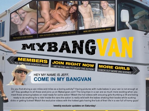 My Bang Van Free Account Password