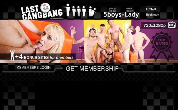 Last Gang Bang Username