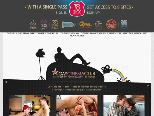 18 Gay Passport Members Area