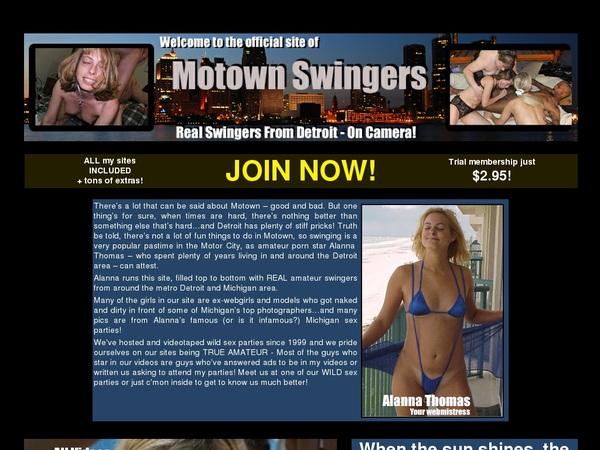 Sign Up Motownswingers.com
