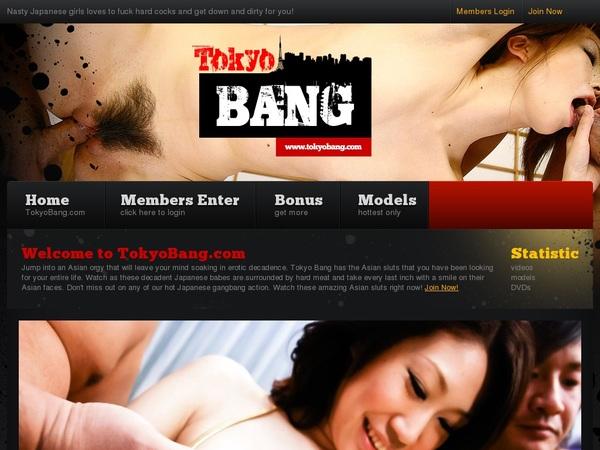 Tokyo Bang Accounts Password