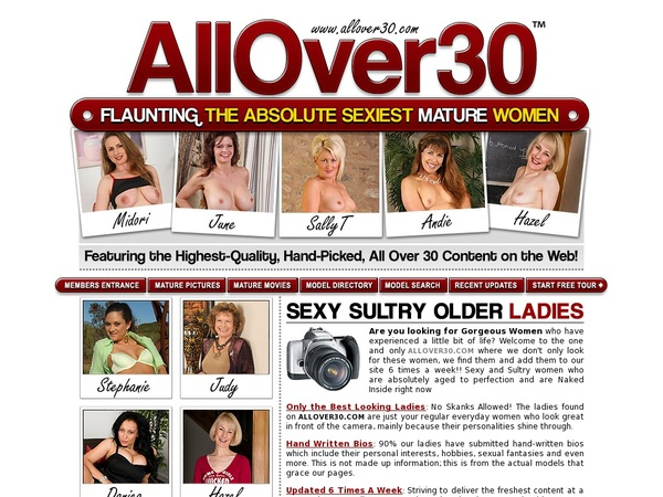 Where To Get Free Allover30 Account