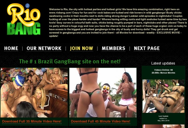 Rio Bang Account And Password