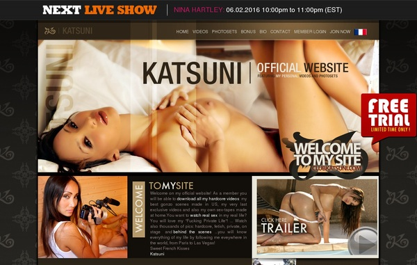 Free Club Katsuni Account
