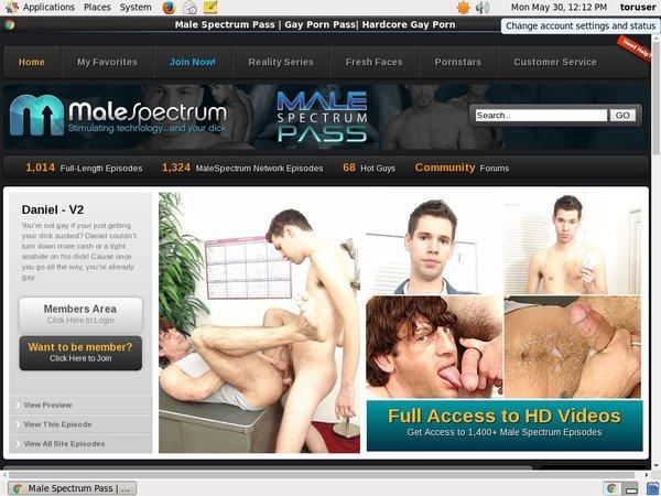 Get Free Male Spectrum Pass Passwords